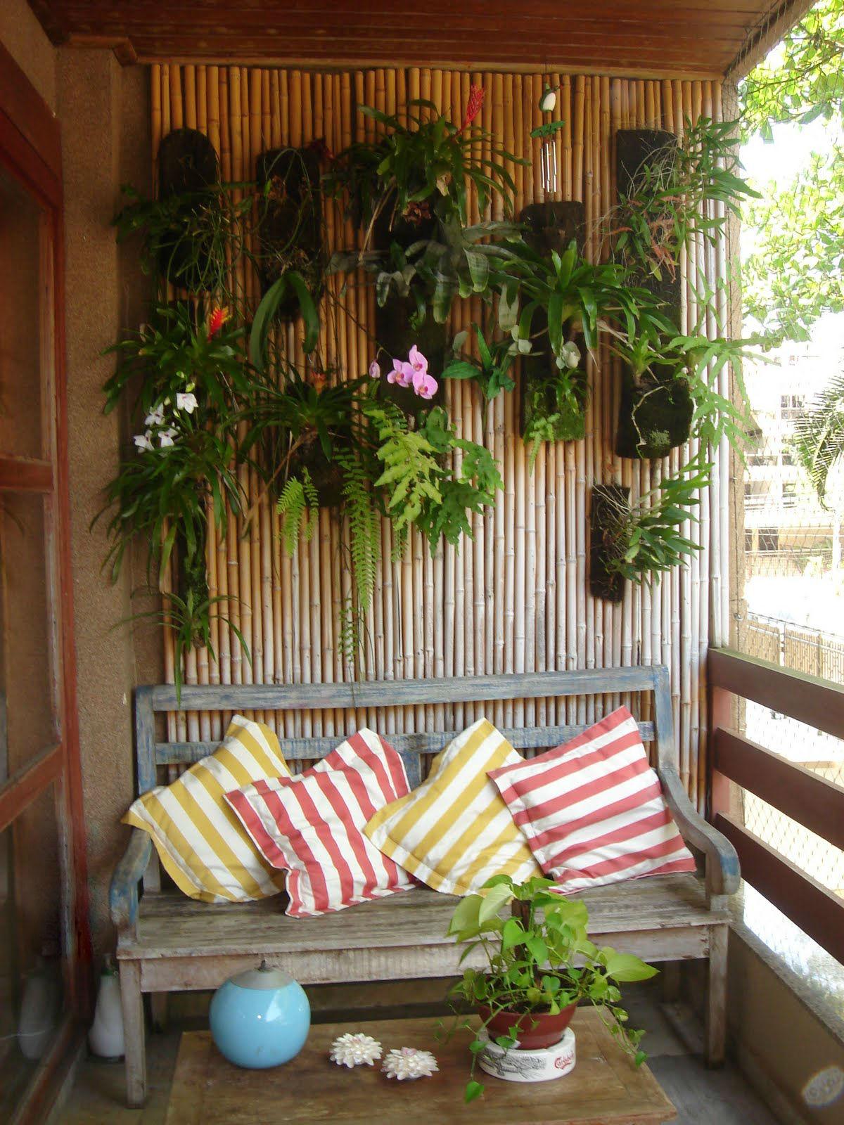 jardim vertical sacada:Olá meninas, hoje venho com algumas idéias de decoração para