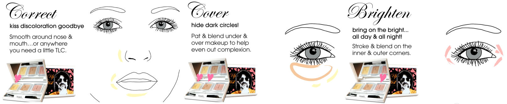 Benefit-The-Perk-Up-Artist-Makeup-Palette-instructions
