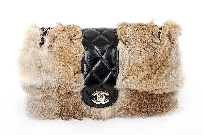 Co-Co-Chanel-1120-Golden-fur-designer-bags