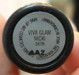 viva glam nicki MAC